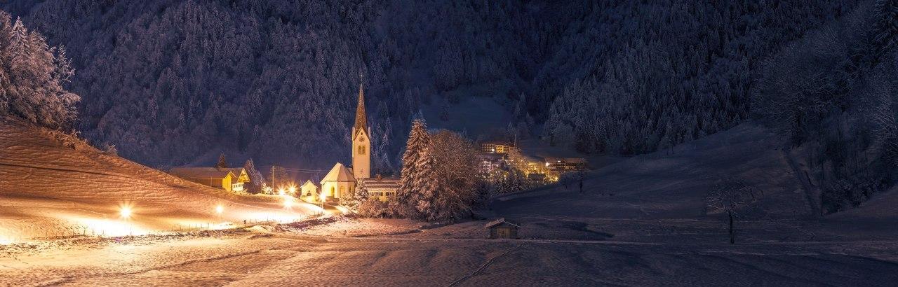 Tiefenbach im Allgäu im Winter © Jonathan Besler