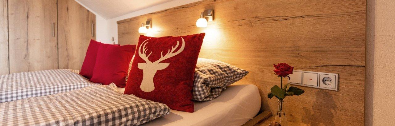 Schlafzimmer Klein- und Privatvermieter © Sabine Hartmann