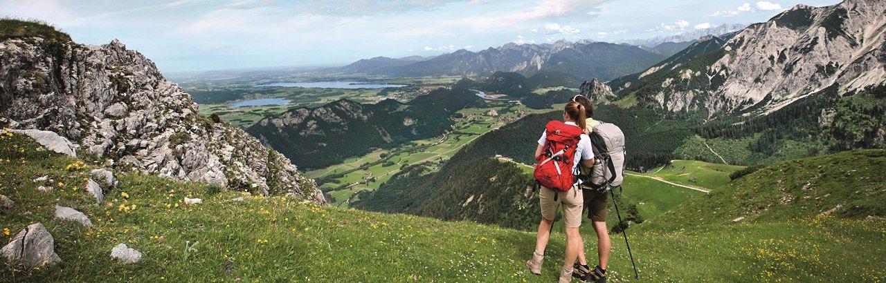 Fernwanderweg in Bayern - Die Wandertrilogie Allgäu. Im Dreiklang mit der Natur. © Allgäu GmbH, Marc Oeder